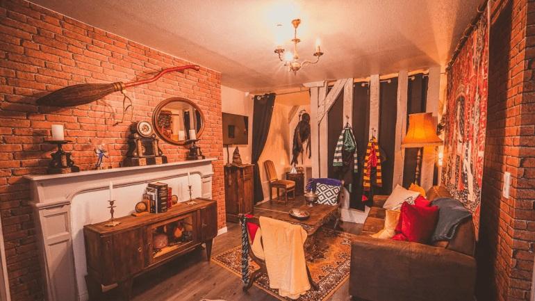 Apartamento con temática de Harry Potter
