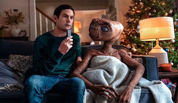 Anuncio navideño de E.T.