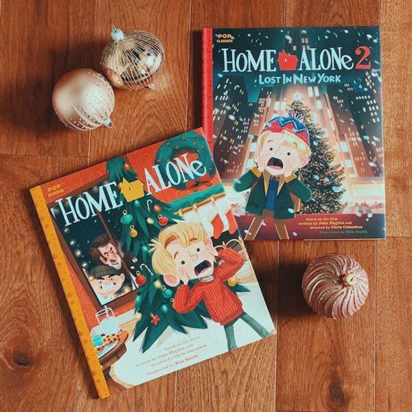 Versión ilustrada de Home Alone