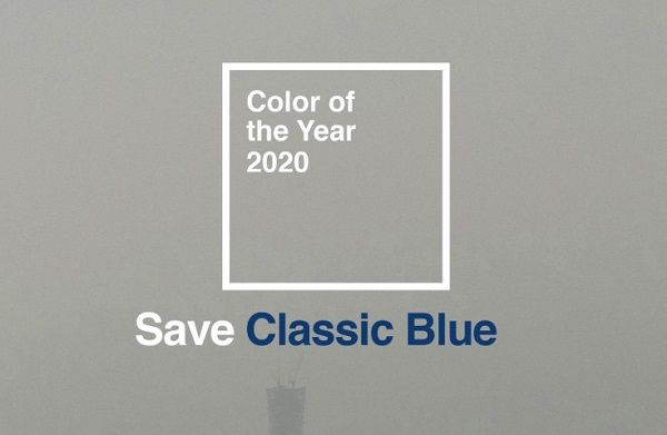 Save the classic blue