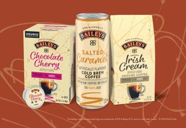 Café helado de Baileys