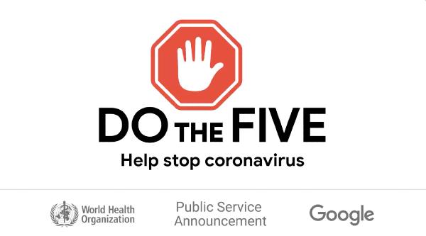 campaña de Google contra el Covid-19