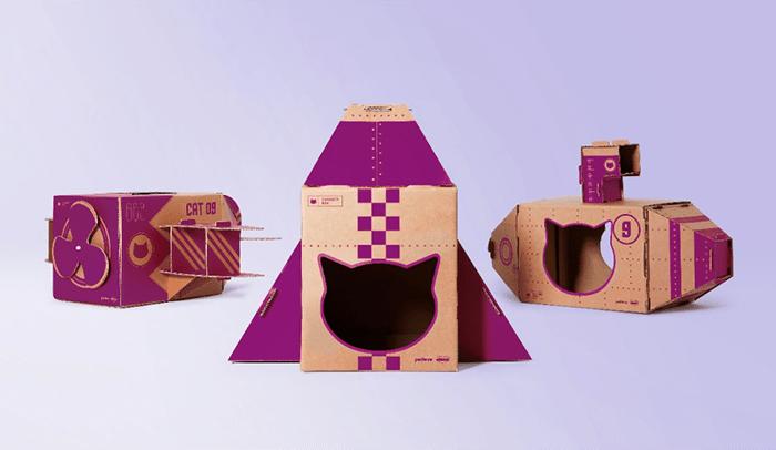 Cajas juguete de Whiskas